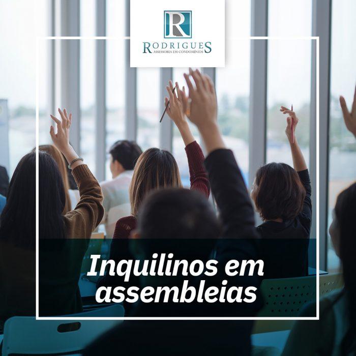 Participação de inquilinos em assembleias