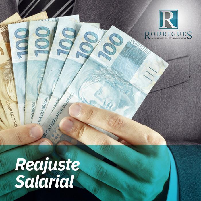 Reajuste Salarial  – Abril 2018 a Março 2019