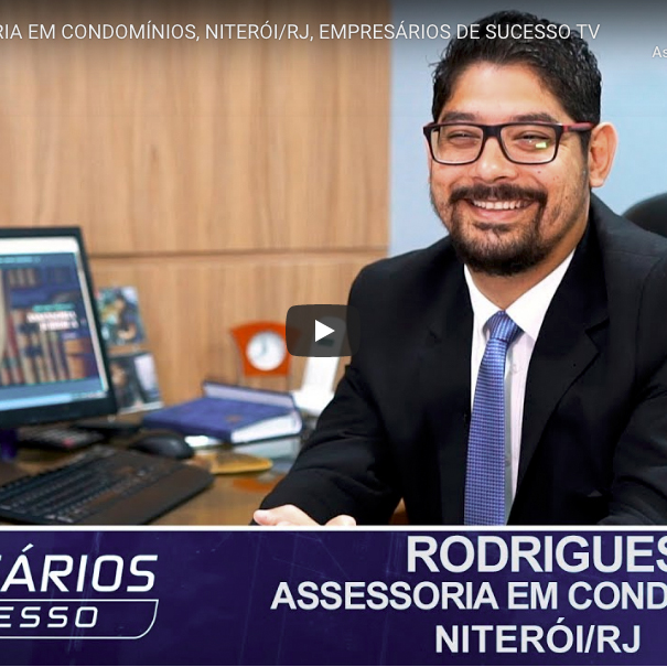 Rodrigues Assessoria em Condomínios no Programa Empresários de Sucesso