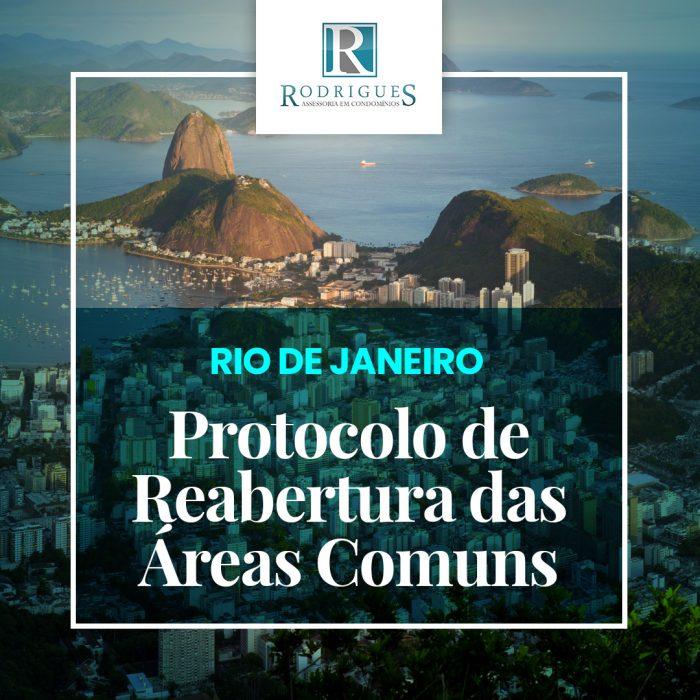 Protocolo de Reabertura das Áreas Comuns – RIO DE JANEIRO
