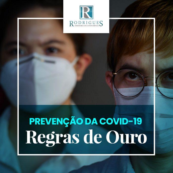 Regras de Ouro – Prevenção da COVID-19